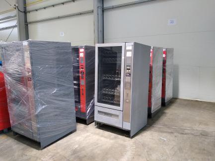 Набір (7 шт.) Торгових автоматів Delco Delta 8