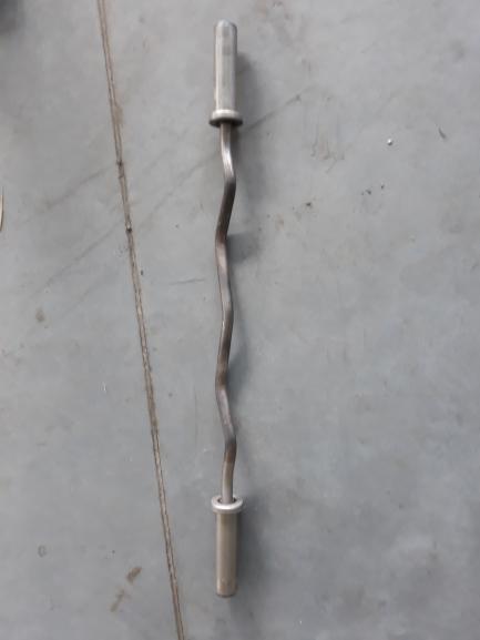 Neck - Steel Series Curl Bar 120cm JORDAN