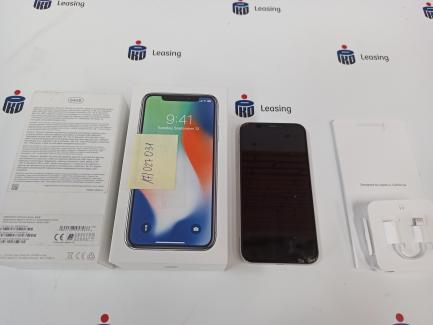 Wiosenne obniżki| Prowizja 0% Apple Iphone X 64GB silver smartphone
