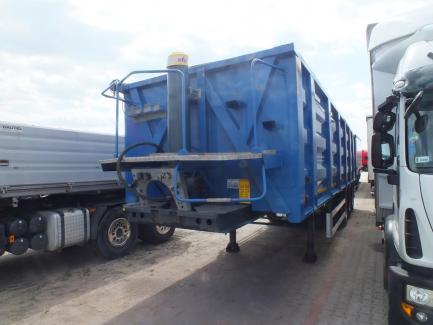BODEX KIS 3WS demountable semi-trailer