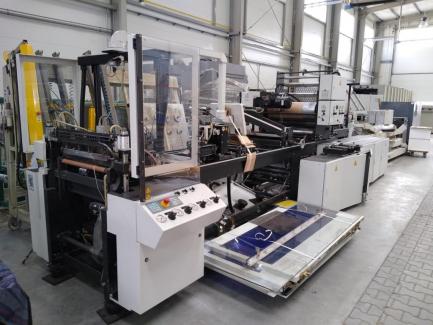 Linia do produkcji torebek foliowych