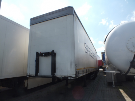 Curtain semi-trailer MEGA KOEGEL S24-1SN24