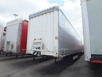 KRONE SD curtain semi-trailer (Coilmulde)