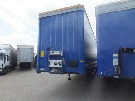 Curtain semi-trailer MEGA Krone SD