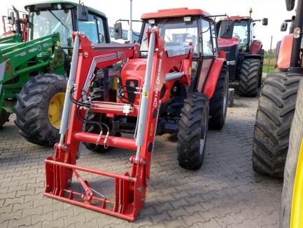Agricultural tractor URSUS 5314 + front loader