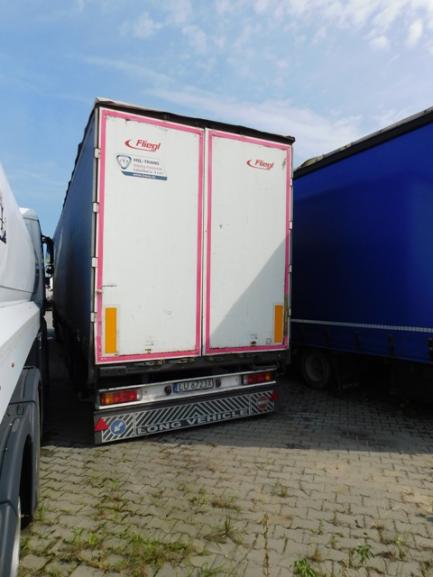 FLIEGL SDS350 curtain semi-trailer
