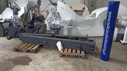 Podnośnik dwu-kolumnowy półautomatyczny Aristo LM240 ATH