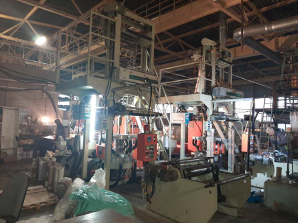 Extruder for the production of HDPE / LDPE / LLDPE KANG CHYAU INDUSTRY KMT-45
