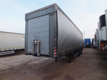 AUCTION OF THE DAY FLIEGL SDS curtain semi-trailer
