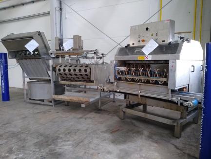 Apple peeler PND S.r.l. Fruit Processing Machinery Italy PEELING MACHINE PL6 160 BG