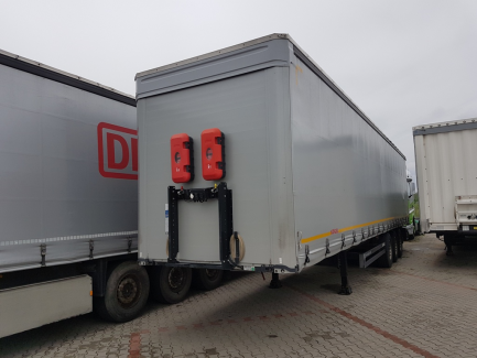 KOGEL S24-1 curtain semitrailer