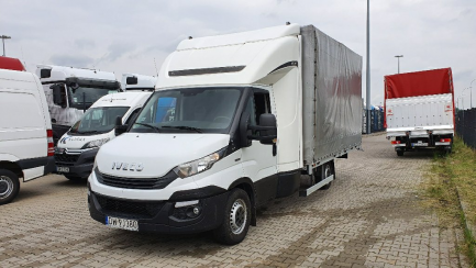 Pierwotna cena 75 200 PLN NETTO IVECO/CARPOL 35S18 Euro 6 2998ccm - 180KM 3,5t 16-