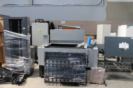 System CTP for plate irradiation CRON 4664GX