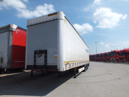 MEGA WIELTON NS-3 NS3K curtain trailer