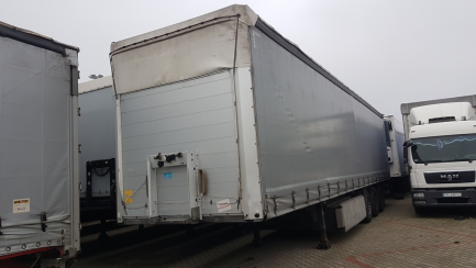 SCHMITZ S01 curtain semi-trailer