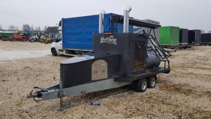 Wiosenne obniżki| Prowizja 1% Gastronomic trailer grill-smokehouse TA-NO