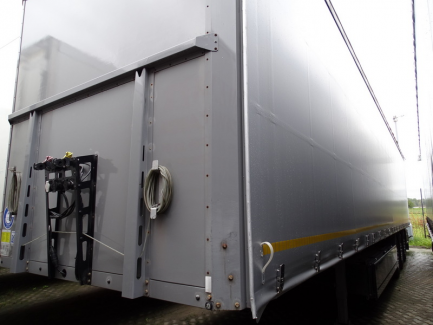 BERGER SAPL 24 curtain semi-trailer