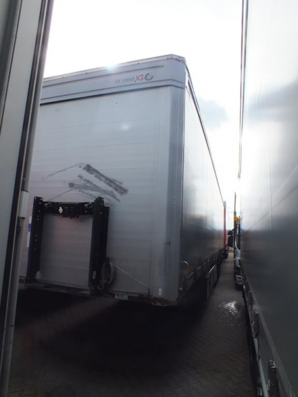 AUCTION OF THE DAY KOEGEL SN 24 Curtain trailer