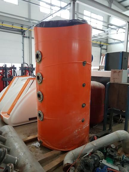 Zbiornik + elementy osprzętu podgrzewacza wody HARTMAN HT500