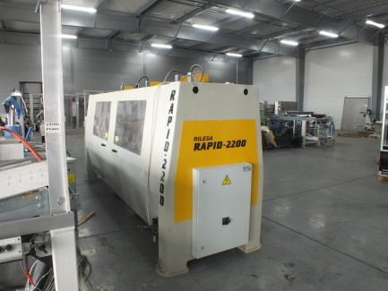 RILESA RAPID 2200 multispindle drilling machine