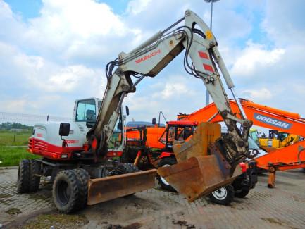 Koparka kołowa TAKEUCHI TB295W Hydraulic Excavator