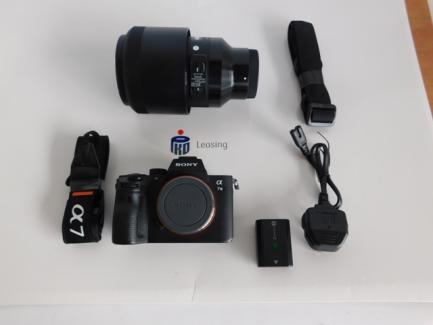 Aparat fotograficzny z teleobiektywem aparat - SONY alpha 7 III  ILCE-7M3 /obiektyw - SIGMA DG Sigma A 135 mm f/1.8 DG HSM / Sony FE