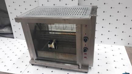 Diamond chicken spit; ceramic feast; 3 forks; 4500W; 800x400x735mm