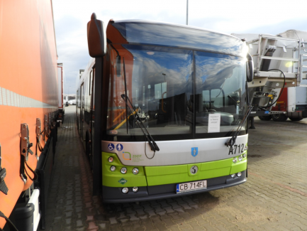 AUCTION OF THE DAY SOLBUS SOLCITY 12 LNG