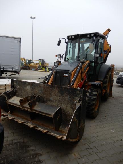 Wheeled backhoe loader CASE 580ST
