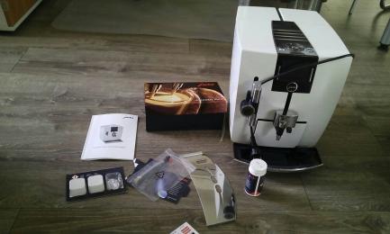 Coffee maker JURA J85 PIANO SERIAL NUMBER 15049