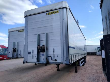 ZASŁAW D-651A Curtain trailer