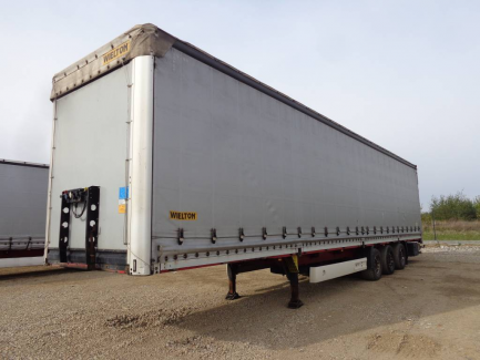 MEGA WIELTON NS-3 curtain semi-trailer