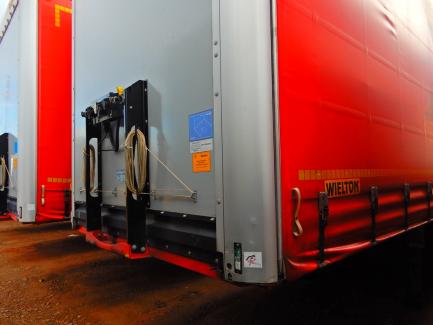 WIELTON NS-3 NS3K curtain semi-trailer