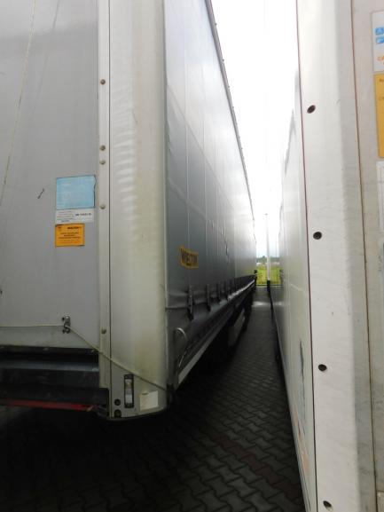 MEGA WIELTON NS3K curtain semi-trailer