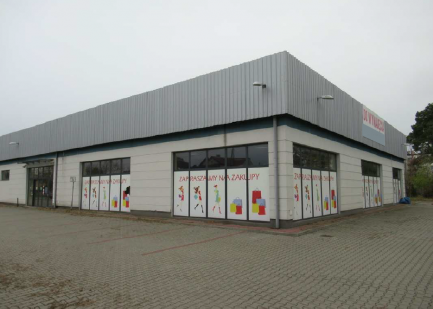Ogłoszenie ! Budynek handlowo-usługowy w Ostrołęce