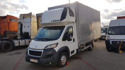 AUCTION OF THE DAY PEUGEOT/LAMAR BOXER 435 HDi Euro 5 2999ccm - 180HP 3.5t 14-16