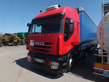Iveco STRALIS Euro 5 10308ccm - 450KM 18/26t 07-12