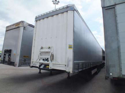 KRONE SD curtain semi-trailer