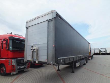 FLIEGL SZS320 Curtain semi-trailer