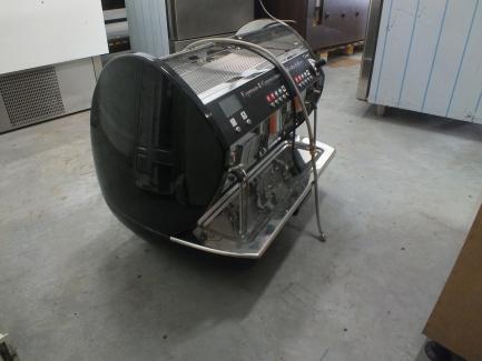 Coffee machine EXPOBAR CARAT DISPLEY 2 GR TS BLACK EBEE D61B-12AM