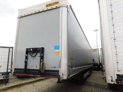 MEGA WIELTON NS3K curtain semi-trailer