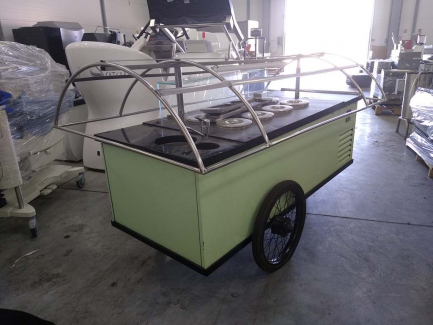 GPPRODUCTION GP GUSTO WPOZS 210 ice cream distribution trolley