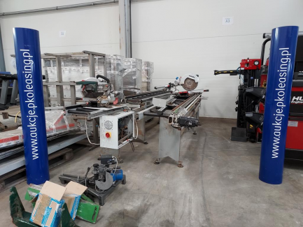 Metabo KGS305M saw with roller conveyor - 2 pcs