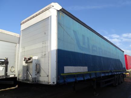 SCHMITZ S 01 SCS 24 / L-13.62 E B curtain semi-trailer