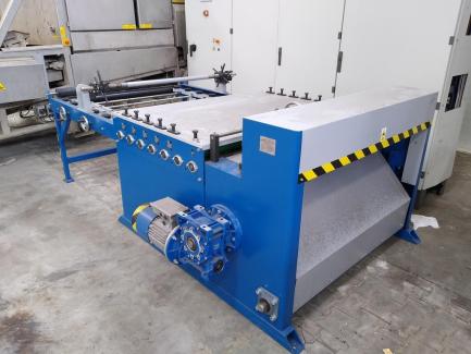 Automatic sheet metal cutting and straightening P.P.H.U Stal-Serwis s.c. STPK - 102