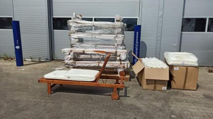 Набір садових меблів WIGO згідно специфікації