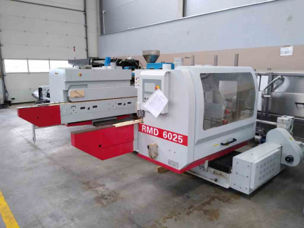 Winter RMD 6025A double-sided tenoning machine + control cabinet