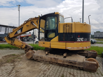 CATERPILLAR 321C LCR tracked excavator