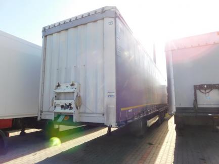 KRONE SD Curtain trailer