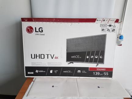 Two LG 55UH605V TVs